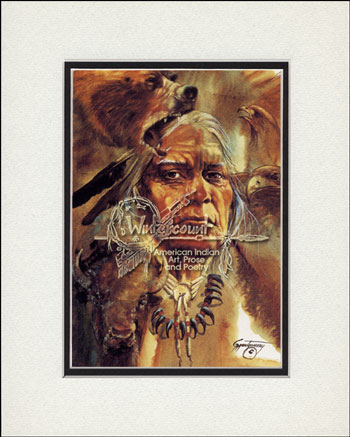 American indian greeting card good life gary montgomeryseminole good life native american m4hsunfo