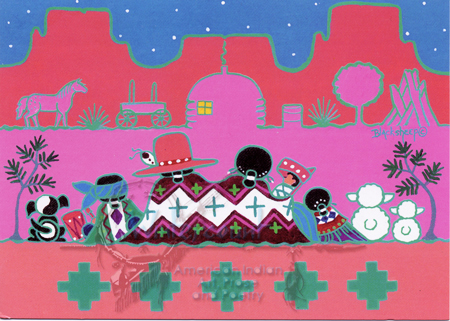 There Is No Place Like Home   Christmas Card   wintercount.com