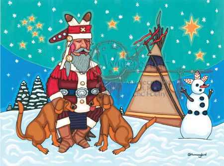 chief claus and pals
